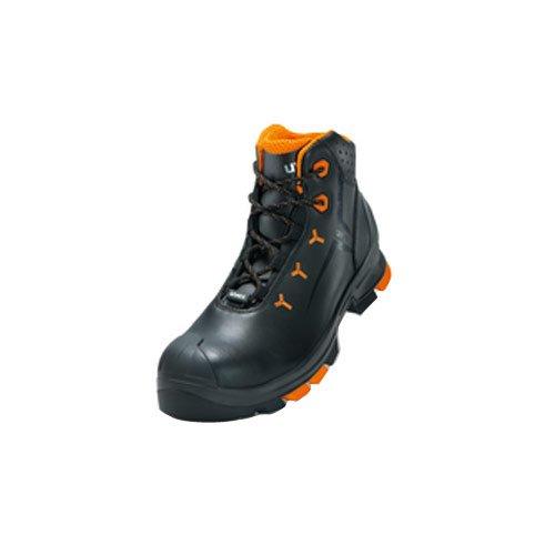 Uvex Sicherheits-Halbschuh uvex 2 S2 metallfrei; Outdoor-Sohle; besonders leicht; Gr. 41 Black Leather