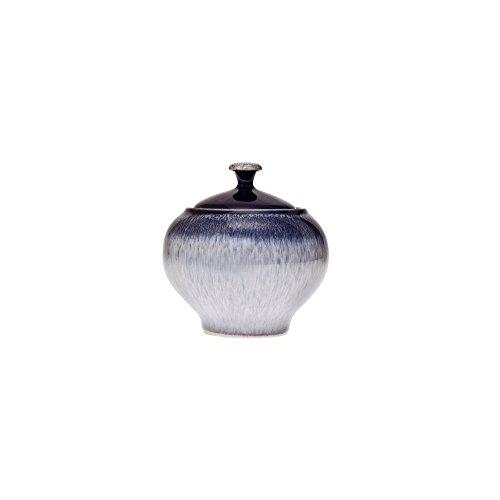 Denby HEA-041 Heather Covered Sugar Bowl, Purple, Medium