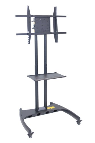 Lcd Luxor (LUXOR FP3500 Flat Panel Cart Rotating and Adjustable Height LCD/LED Mount, 62.5