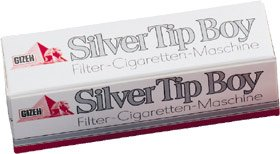 Gizeh 413475008 Silver Tip Boy für Standart-Hülsen