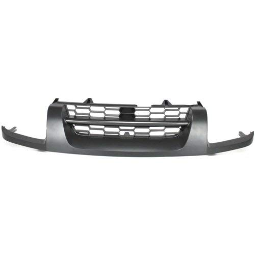 2004 Grille Xterra Nissan (Grille Assembly for NISSAN XTERRA 2002-2004 Gray SE Model)