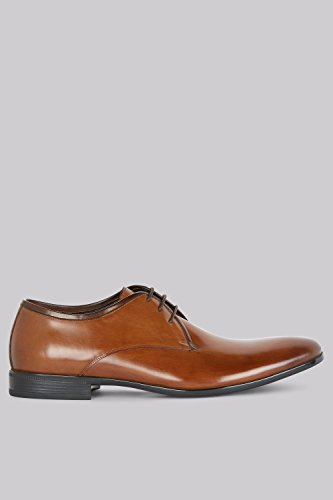 Scarpe Derby John White Mens Cadogan Tan