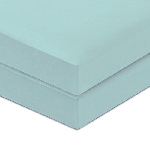 Summer Crib Set - PHF Crib Fitted Sheets 100% Organic Cotton Deep Pocket 52