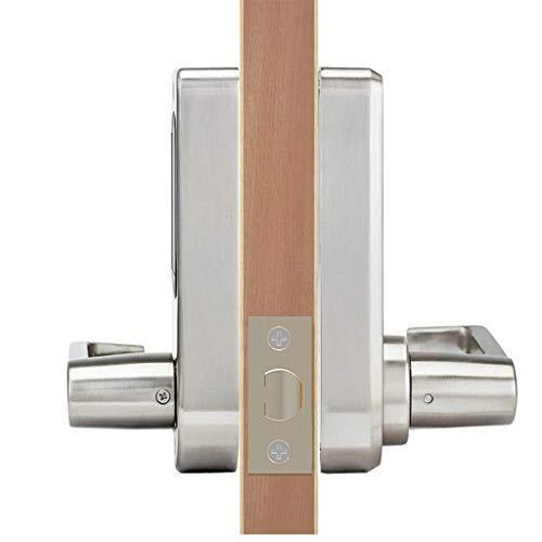 ETEKJOY Electronic Door Lock 3-in-1 Password RFID Card/Tag Hidden Keyhole Digital Touchscreen Keypad Left/Right Lever Reversible Handle Keyless Smart Auto Lock by ETEKJOY (Image #3)
