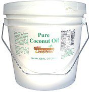 Tropical Traditions Expeller Pressed Coconut Oil, Non-Certified - 1-gallon Expeller Pressed Coconut Oil