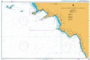 BA Chart 1908: Italy – West Coast, Isola d'Ischia to Capo di Bonifati by UKHO