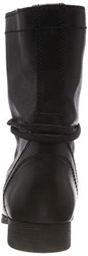 Leather 017 Troopa Madden Black Ankle Bottines Steve Black Femme Boot 6A4wqg