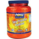 Now Foods Soy Protein Isolate Non-GMO Unflavored - 2 lbs. 6 Pack