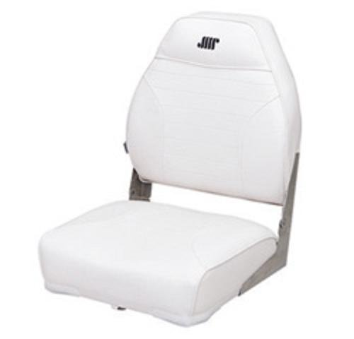Wise 8WD588PLS-710 Mid-Back Fishing Boat Seat with Logo, (White) (Boat Fishing Seat Pedestal compare prices)