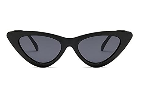 Gafas de sol triangulares Qilene Retro para mujer, con ojo ...