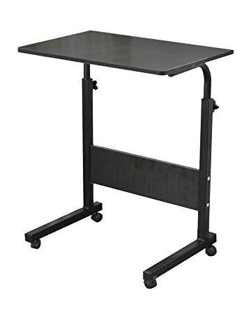 DlandHome Laptop Stand Adjustable Computer Standing Desk With Tablet IPad  Slot 05 3
