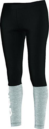adidas Originals Women's Island Leggings, Medium, Medium Grey Heather/Black