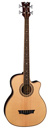 Dean EABCS SN 4-String Acoustic-Electric Bass Guitar, Natural by Dean Guitars