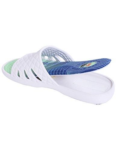 Sensfoot Unisex Indoor Schoenen Antislip Slippers Voor Oudere Zwangere Vrouwen Sport Blauw