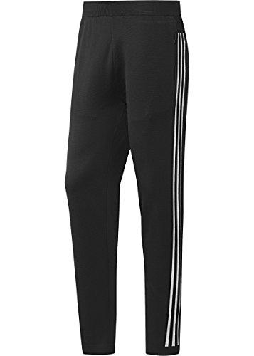 adidas Men's Athletics ID Knit Striker Pants (2XL) Black
