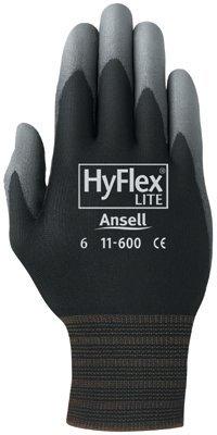 Ansell 012 – 11 – 600 – 11-bk 205670 11 HyflexウルトラLghtweightアセンブリグローブ B009SB3OX2