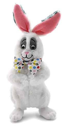 Attatoy Bundo Bunny Plush Stuffed Bunny Rabbit with Bowtie; Perfect for Easter]()