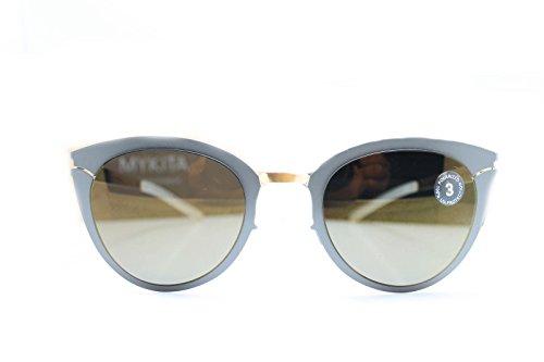 Mykita Sunglasses Frame New Patented Germany Mod.PRISCILLA Gold Basalt 52 - Mykita Sunglass
