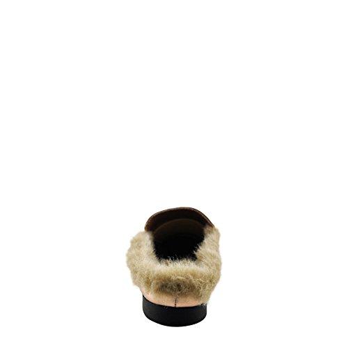 Slide Penny Paprika Dark On Fur Lined Gazell Loafer Women's fqqvnOa