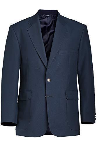 Edwards Men's Single-Breasted Blazer 44 Long Navy