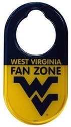 Game Day Outfitters West Virginia University - Door Hanger by Game Day Outfitters