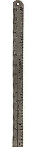 """6"""" Metric & English Scale Metal Ruler"""