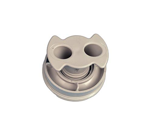 Tub Parts Hot Jet (Watkins Replacement 1997 - Current Rotary Jet for Hot Tubs in Warm Gray, 73303)