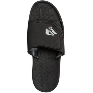 REEF Mens Sandpilot Slide (Black 6.0 M) lQ7Mg