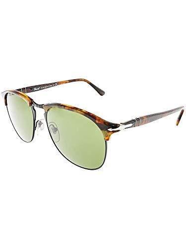 Persol PO8649S 108/4E Black/Tortoise PO8649S Pilot Sunglasses Lens Category 3