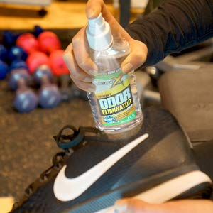 Sweat X Sport Odor Eliminator Spray | Odor Spray For Sports Equipment, Gear and Shoes | No Washing Required by Sweat X (Image #4)
