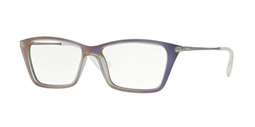 Ray-Ban Women's RX7022 Eyeglasses Iridescent Violet 52mm