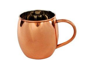 Pewter Barrel Stein (16 oz smooth copper barrel with nickel lining)