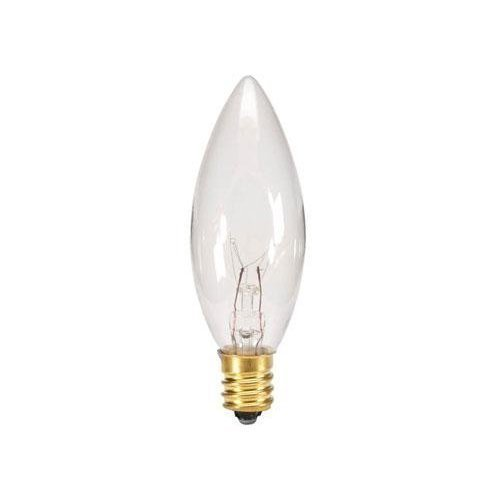 Replacement 7 watt 120 volt bulb for electric window candle lamp, 25 count by Darice (Electric Candle Light Bulbs)