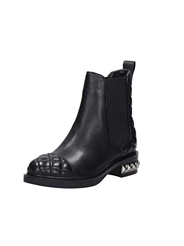 STIVALETTO BEATLES DONNA GUESS HEBA LEATHER BLACK.