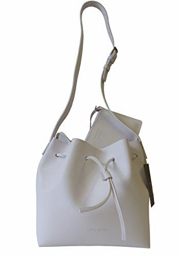 Lancaster Pur Saffiano M Beuteltasche weiß