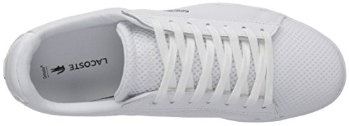 Lacoste Women's Carnaby Evo 416 1 Spw Fashion Sneaker, White, 10 M US