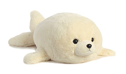 Aurora World Super Flopsie Baby Harp Seal Plush -