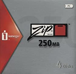 Iomega - Zip - 250 Mb - Pc - Storage Media