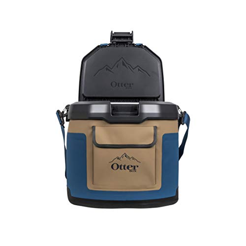 OtterBox Trooper Cooler 12 Quart - Desert Oasis (Tan/Blue/Orange/Black)