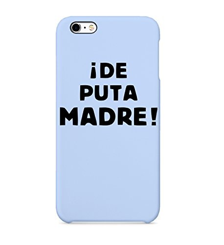 De Puta Madre Narcos Spanish Protective Case Cover Hard Plastic iPhone XR MAX Hard PC Funny Gift Christmas Him Her ()