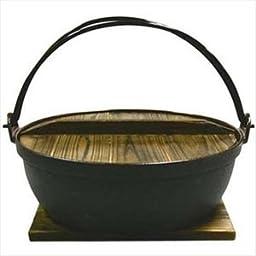 Shabu Shabu Pot Sukiyaki Nabe 11in #827-27