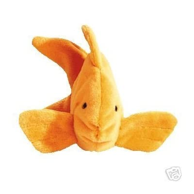 TY GOLDIE THE GOLDFISH TEENIE BEANIE BABY: Toys & Games