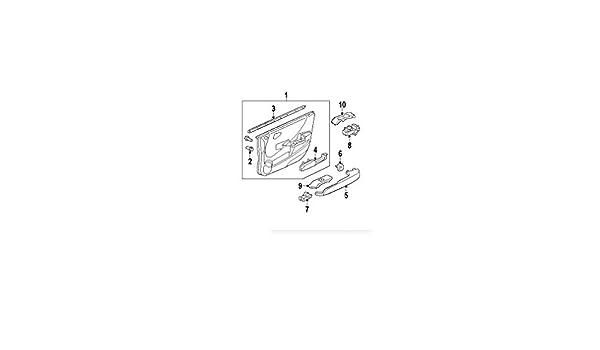 Genuine Honda 06358-SAA-406 Power Window Switch