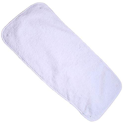 Clair de Lune Towelling Changing Mat Topper, White