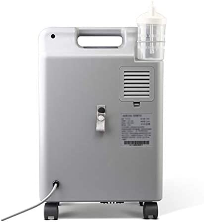 Mei Xu 酸素発生器、酸素発生器アトマイザー、高齢者や妊娠中の女性のための3L家庭用酸素マシン 酸素バー (Color : White)