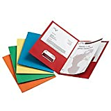 Office Depot(R) Brand Twin-Pocket Portfolios With Fasteners, Assorted Colors, Pack Of 25