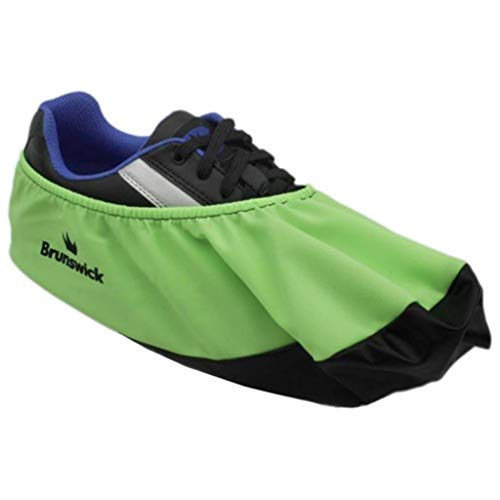Brunswick Bowling Products Shoe Shield Shoe Covers- Neon L/XL, Green, Large/X-Large (Covers For Bowling Shoes)