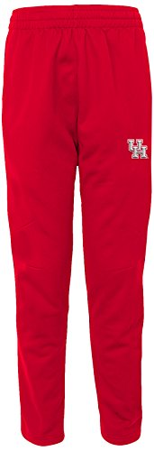 """NCAA by Outerstuff NCAA Houston Cougars Men's """"First String"""" Field Pant, Red, Men's XX-Large"""