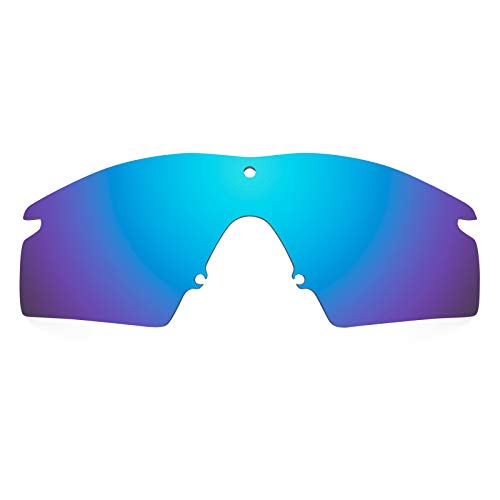 Revant Polarized Replacement Lenses for Oakley M Frame 2.0 Strike Elite Ice Blue ()