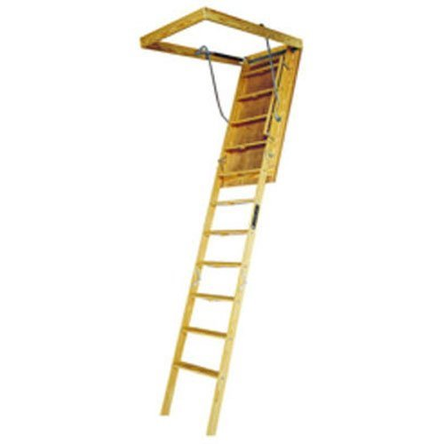 (Louisville Ladder 30 by 60-Inch Big Boy Attic Ladder, 8-10-Foot Ceiling Height, 350-Pound Capacity,)